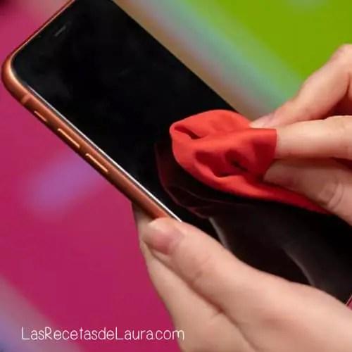 Desinfectar el celular
