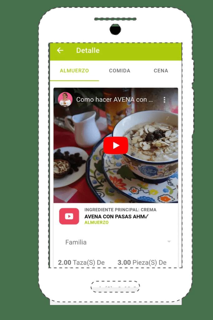 app de menus saludables las recetas d elaura