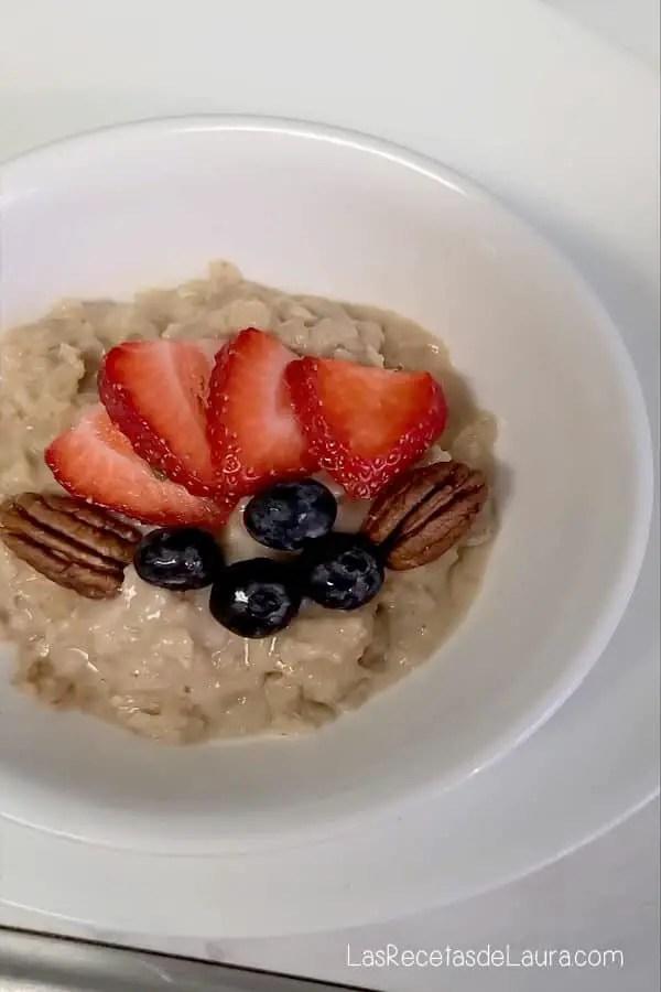 avena para desayunar