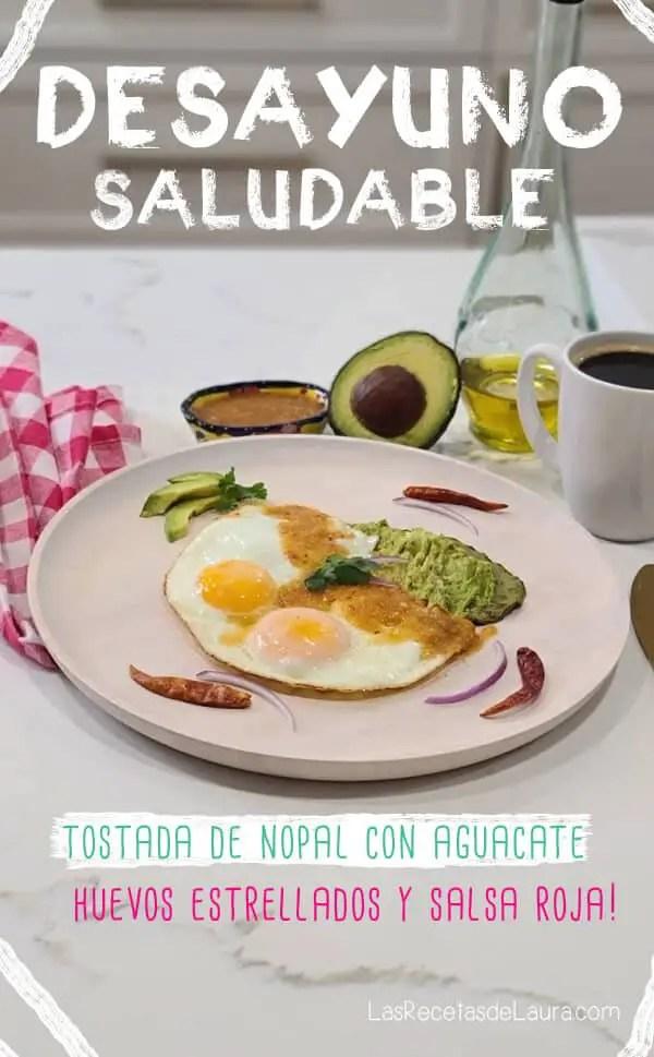 desayuno saludable con nopales