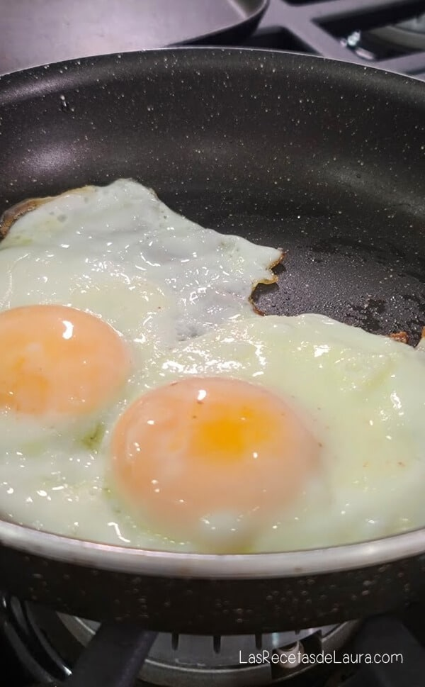 huevos estrellados saludables