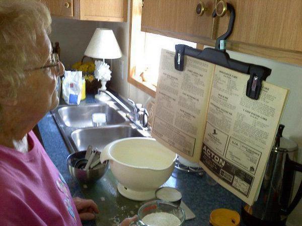 Trucos para leer la receta mientras cocinas