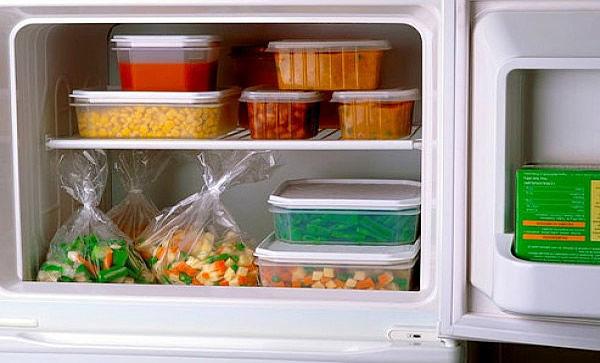 Alimentos que van en tapper y en bolsas de plástico
