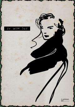 Lassal- Fashion Illustration 15W34S23-04-1200