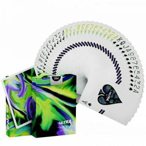 Ultra Green Playing Cards by Gemini