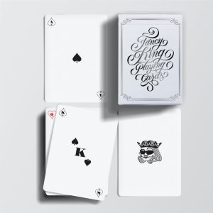 Fancy King Essential Deck- Carte Air Cushion Finish - Lassonellamanica.com, un Sito, Tutta la Magia! Vendita Giochi di Prestigio.