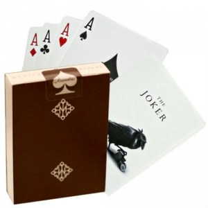 Rounders Brown Playing Cards - Mazzi di carte, giochi di prestigio, libri di magia in vendita su Lassonellamanica.com.