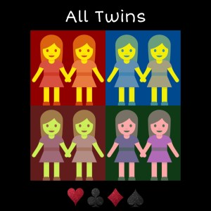All Twins by Jaco Magic (Instant Download) - LASSONELLAMANICA.COM - Vendita Mazzi di Carte, Giochi di Prestigio, Libri e Dvd di Magia.