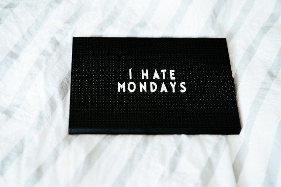 non ditemelo, è lunedì
