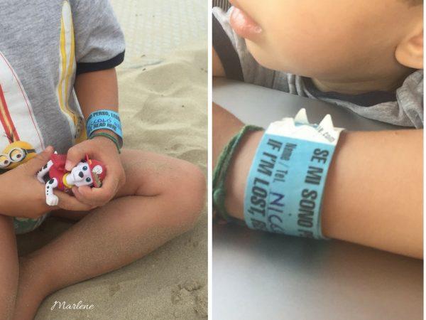 braccialetti trova bimbi