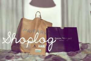 Shoplog: Primark, Sam Friday & Miss Honeybird