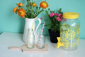Spring party preparation by Hema
