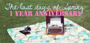 1 year anniversary
