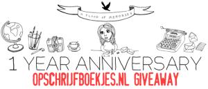 Letter project anniversary: opschrijfboekjes.nl giveaway