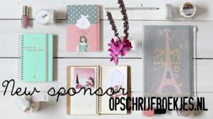 New sponsor: Opschrijfboekjes.nl