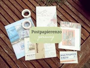 International Giveaway: Postpapierenzo.nl