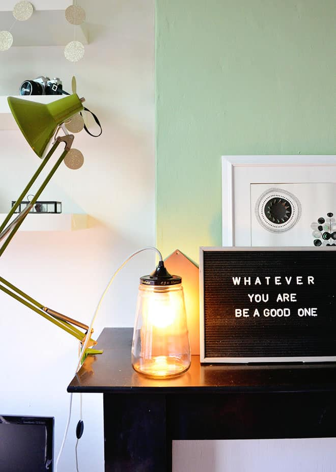 Vaak DIY: jar lamp &TU88