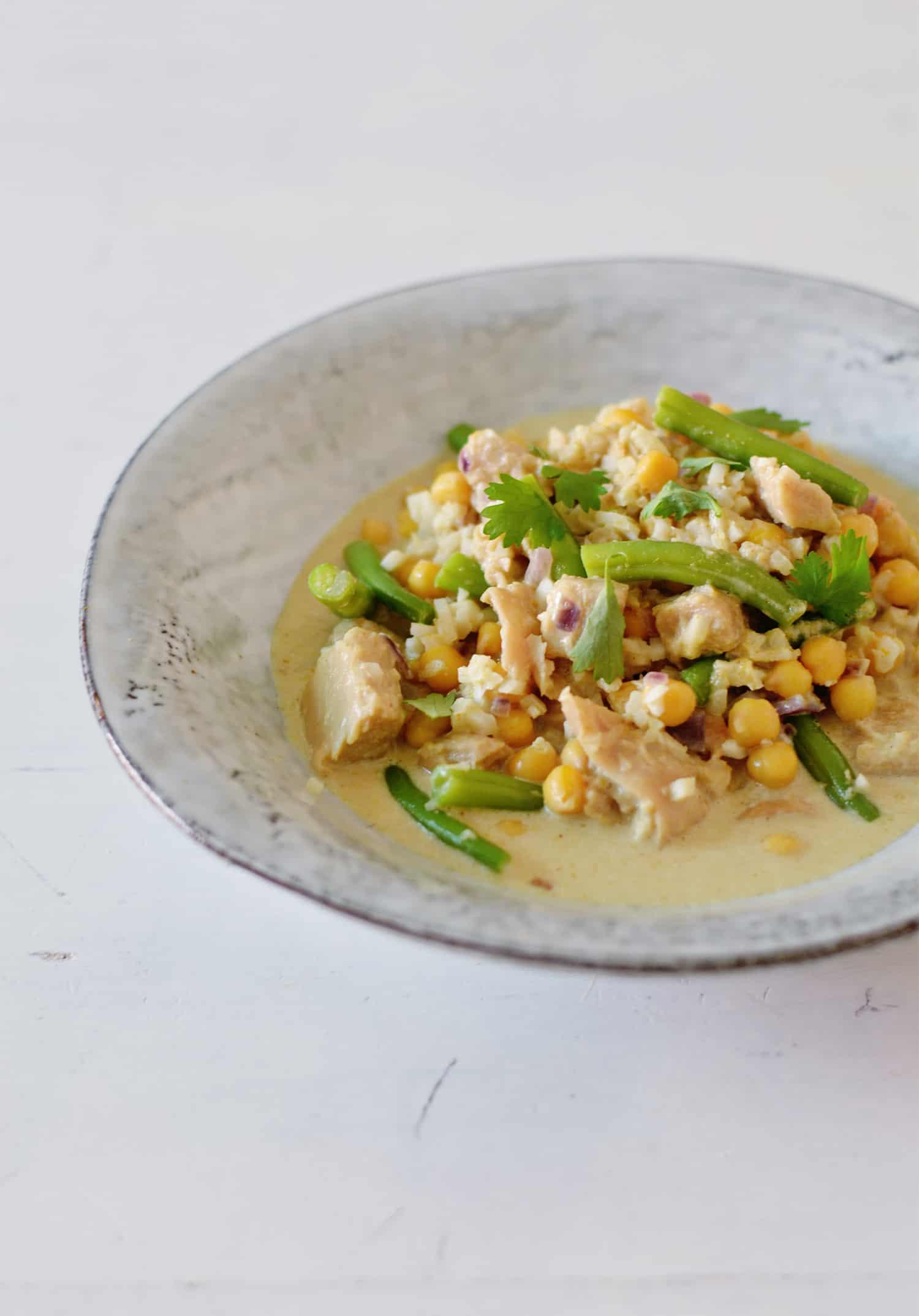 Recept: (vegan) curry met bloemkoolrijst