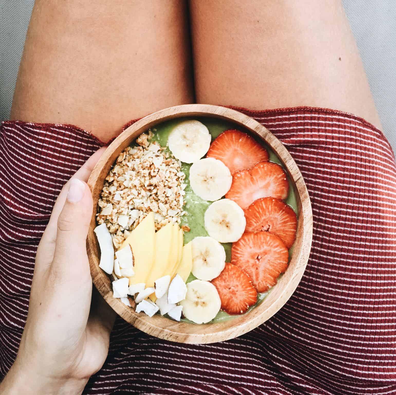 Diary week 32: een weekje België, smoothie bowls & veggies