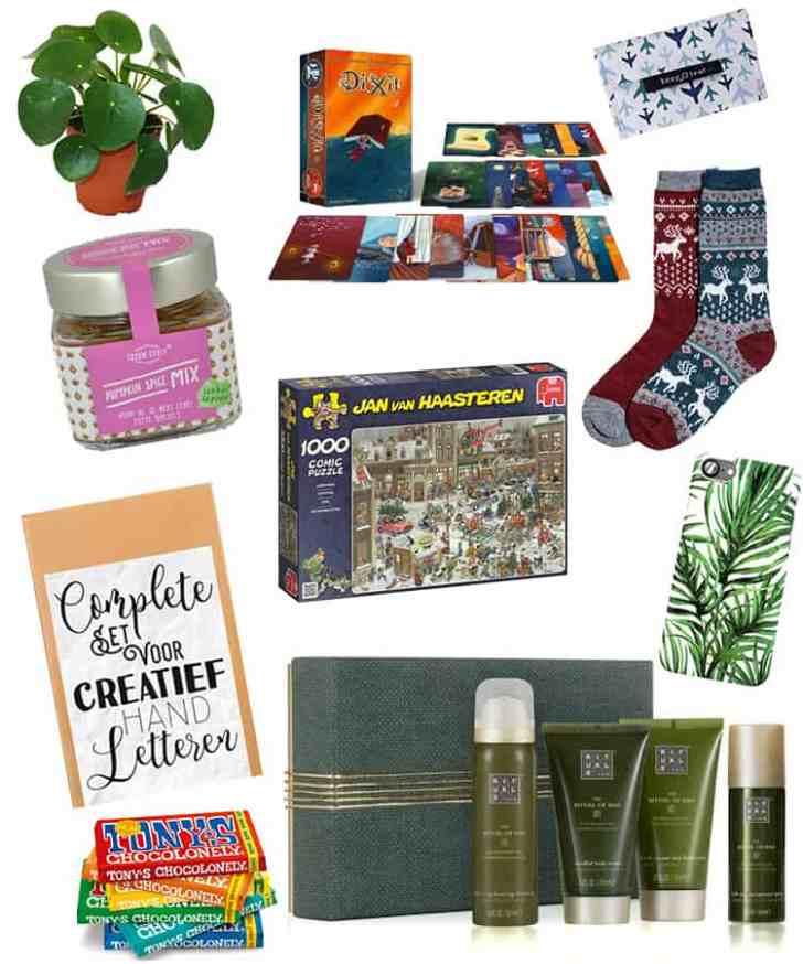 Vaak Inspiratie: Leuke sinterklaas en kerst cadeaus onder 20 euro &RC66