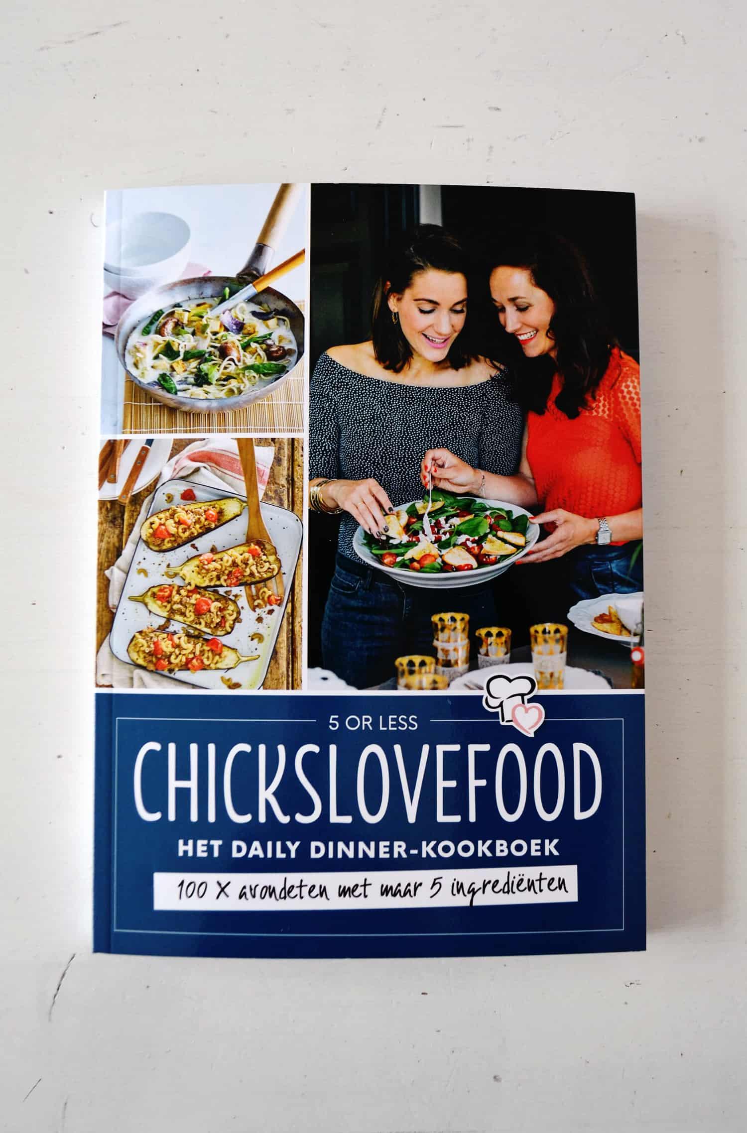 Kookboek review: chicks love food 5 or less daily dinner-kookboek