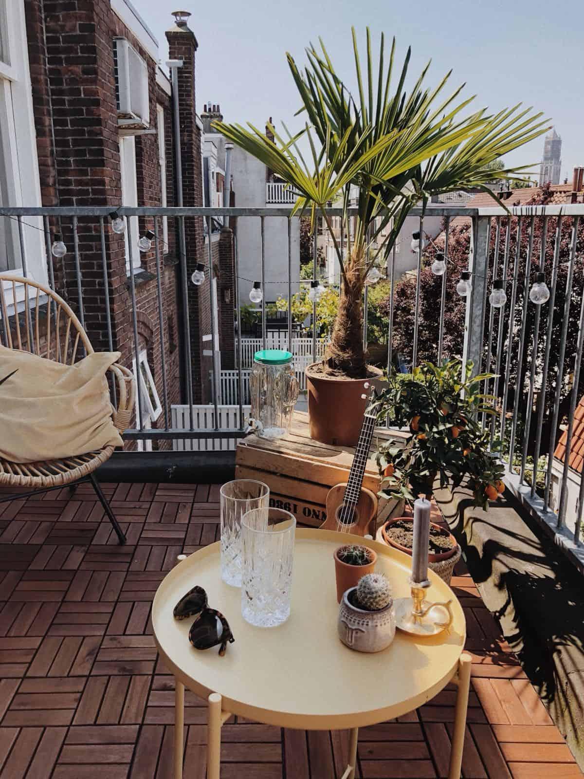 Balkon make-over (met before & after) & tips voor je eigen make-over!