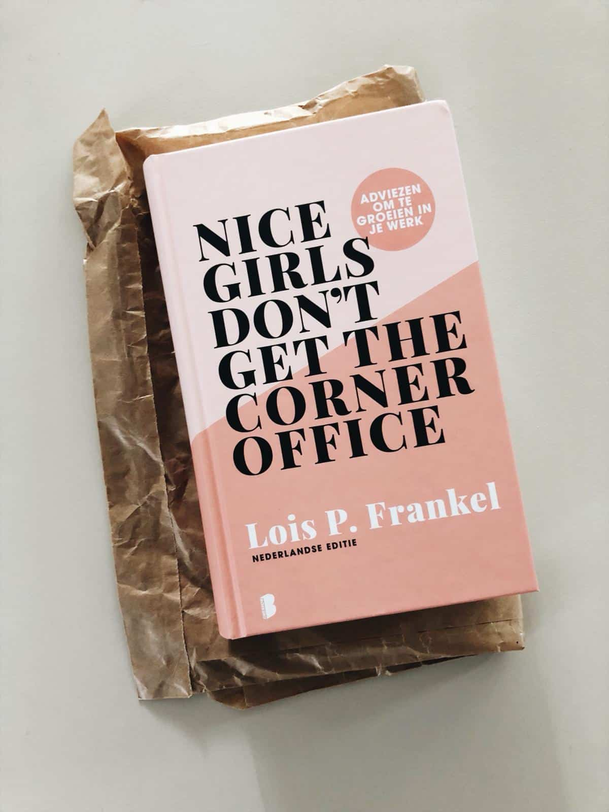 Boek review: Nice girls don't get the corner office