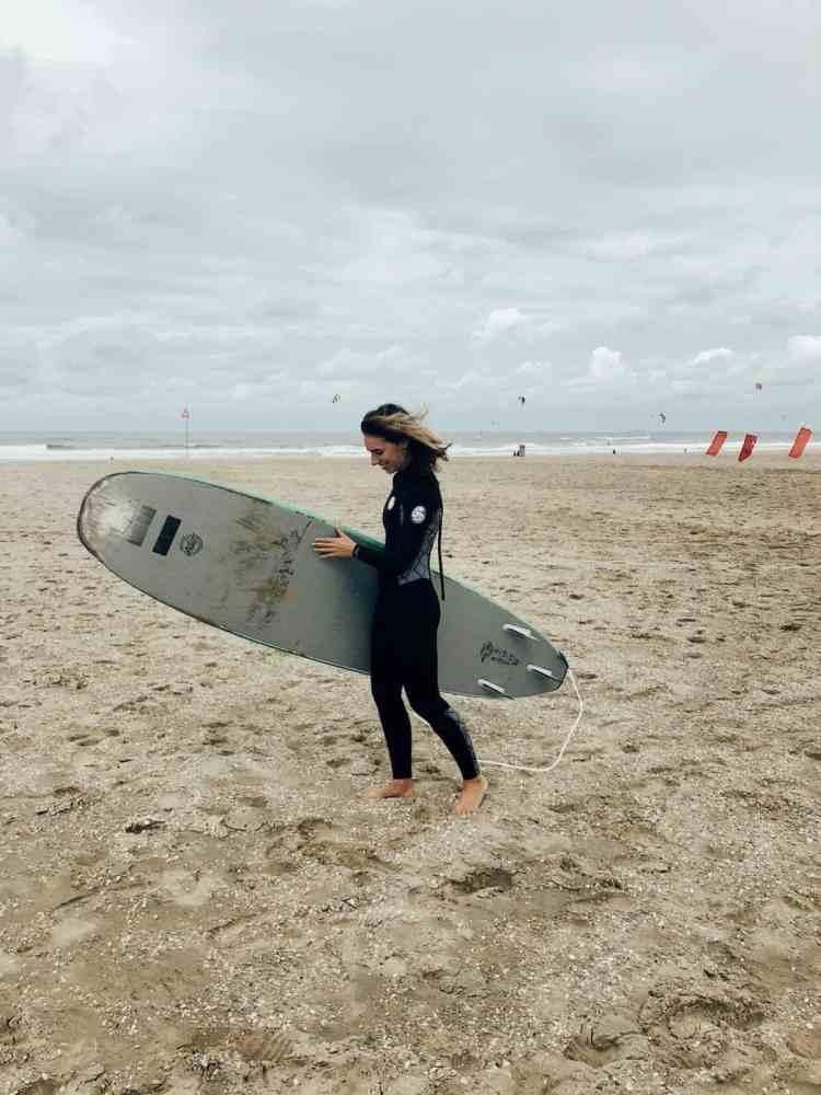 beginnen met surfen