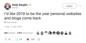 2019: het jaar van de persoonlijke blogs (+ blogtips!)