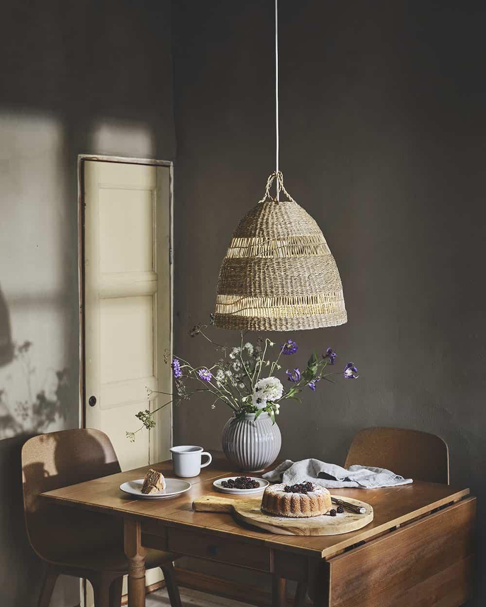 zeegras lamp