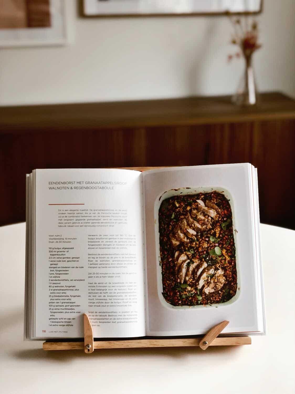 recept uit boek