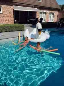 Lees meer over het artikel Diary week 26: afkoelen in het zwembad & babynieuws!
