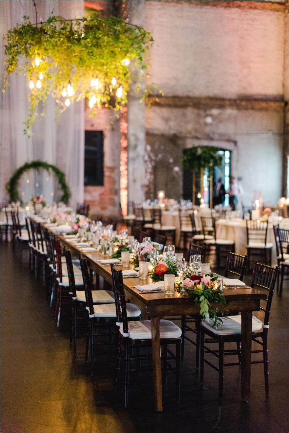 Hanging Greenery Wedding