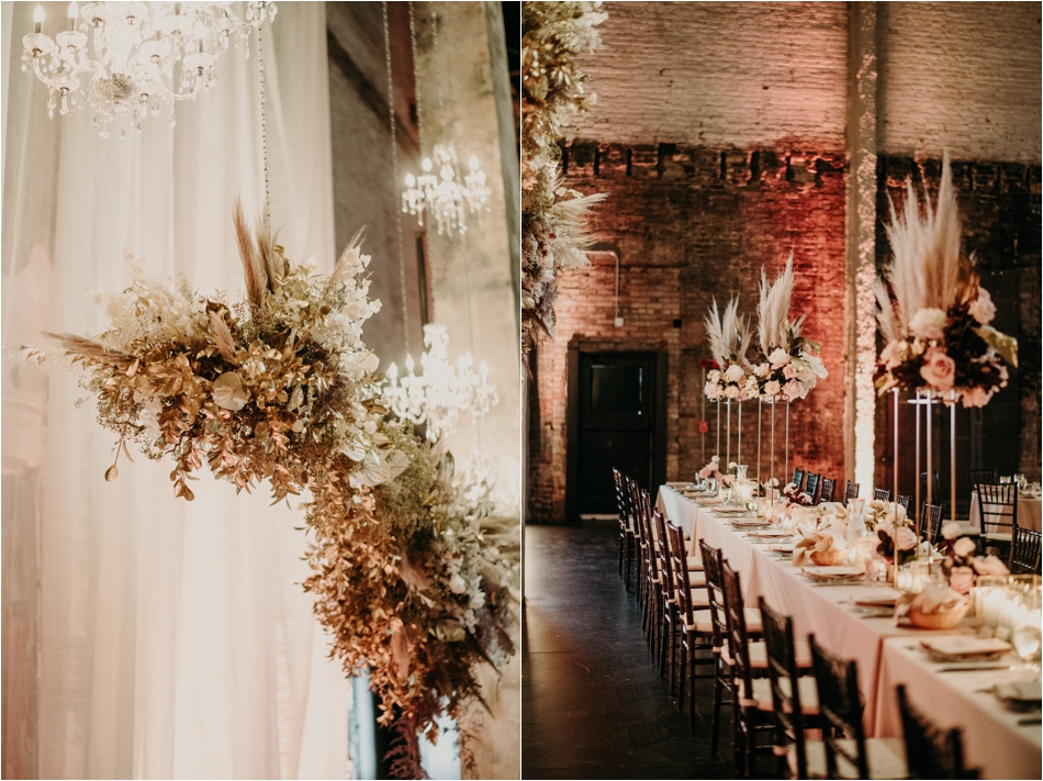 pampas grass Wedding