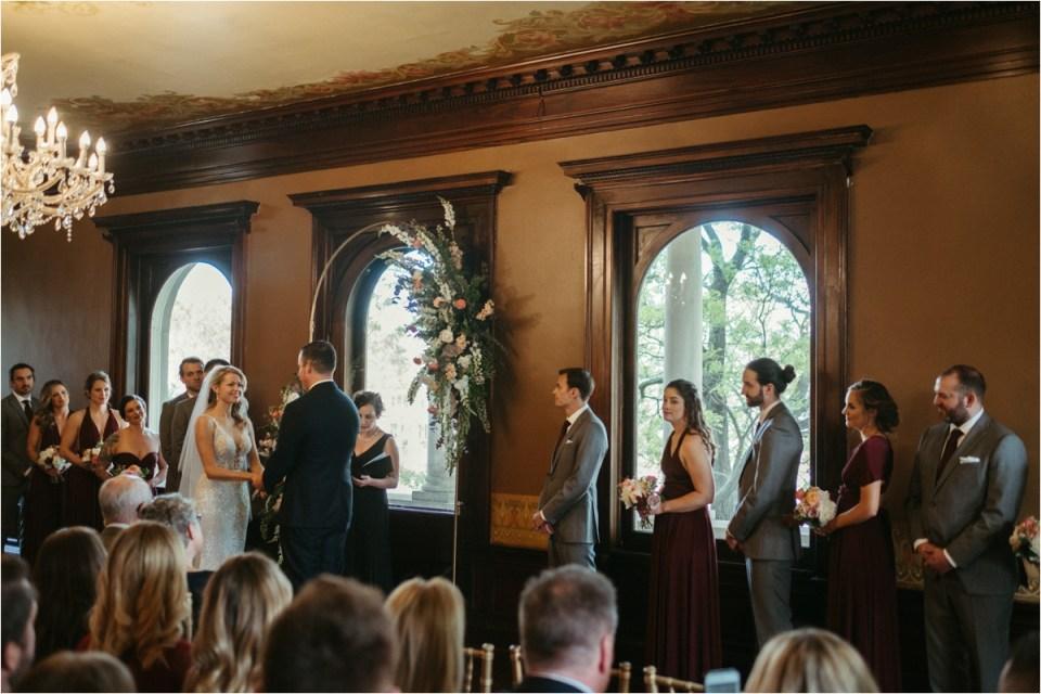 Semple Mansion Wedding