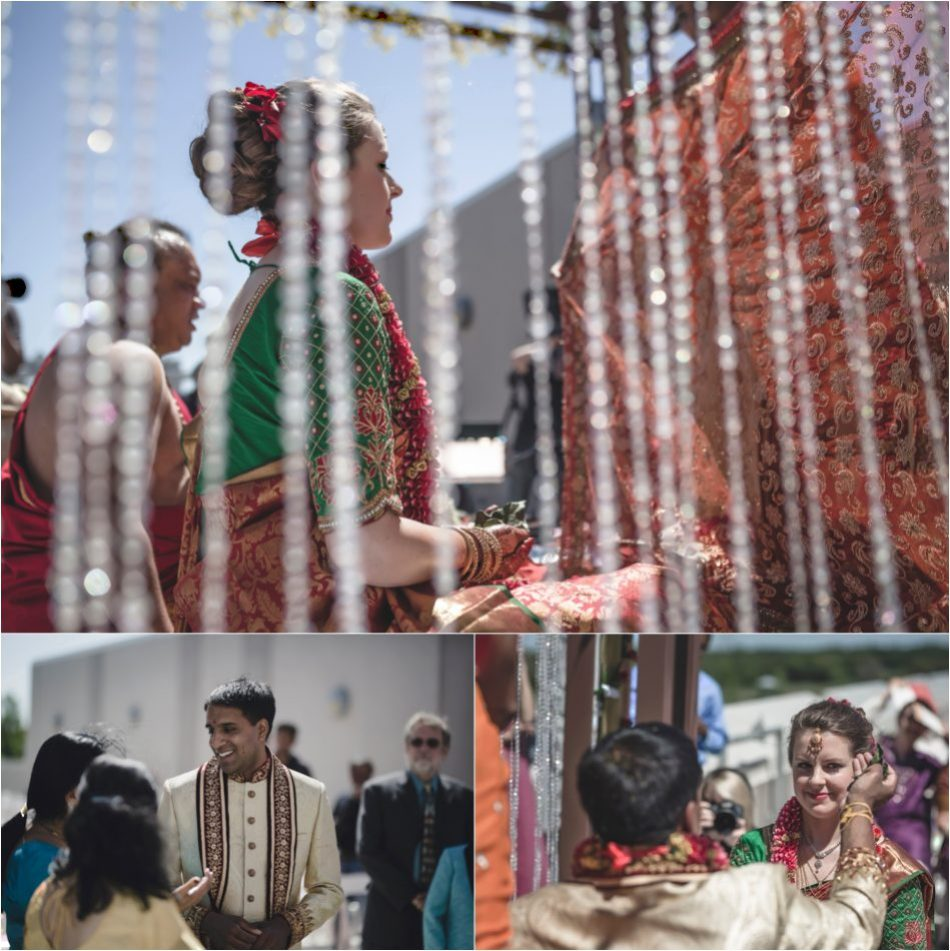 Western and Hindu Fusion Wedding