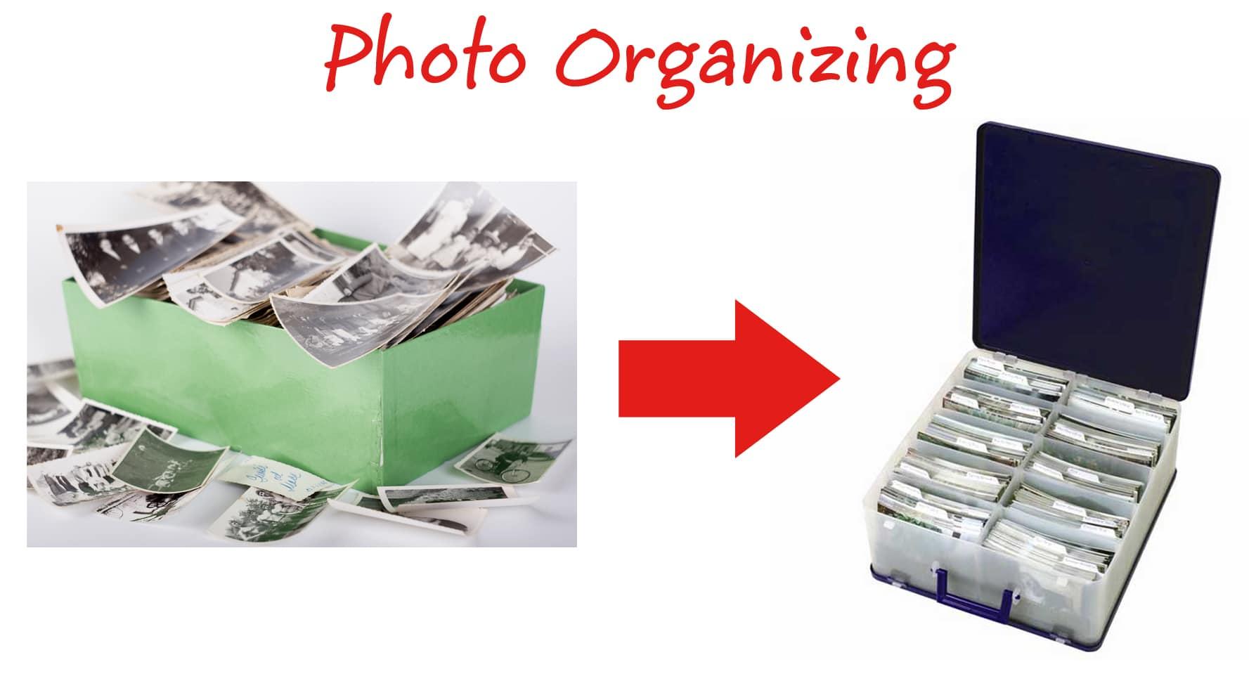 Photo Organizing Title