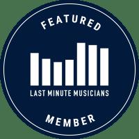 Jamie Goddard solo singer / guitarist on Last Minute Musicians