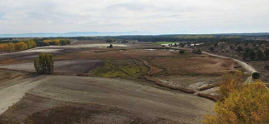 La CHD efectúa un seguimiento de las lagunas  de Hontalbilla y Lastras de Cuéllar tras su restauración