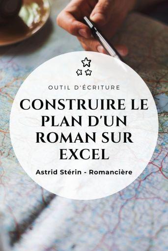 Construire le plan d'un roman sur Excel