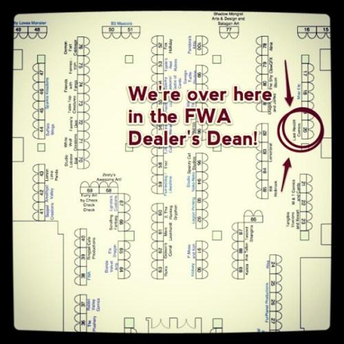 We're in the Dealer's Den at FWA!