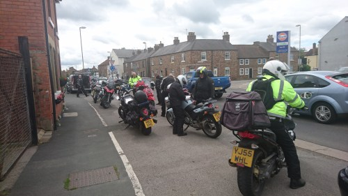 Thirsk - Not just our start point it seemed...