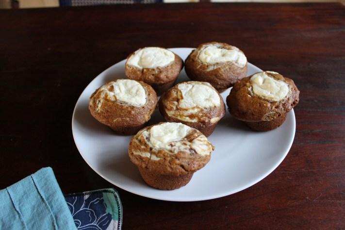 Pumpkin Plus Muffins Plate