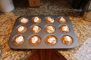 Pumpkin Plus Muffins Pre Oven