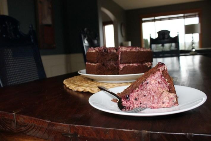 Piece of Chocolate Stout Cake