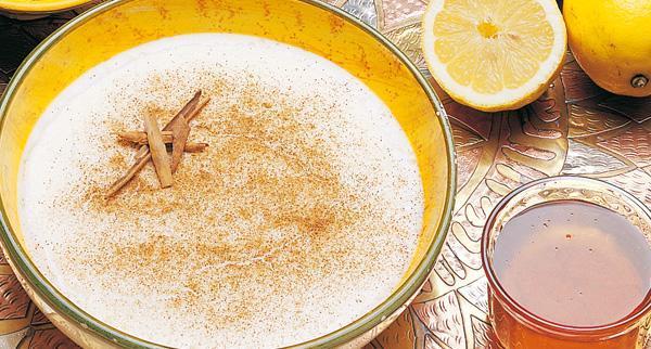 Andalousie_ crème dessert crème citron cannelle andalouse