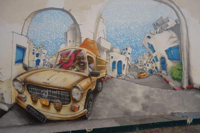 Djerba Street Art- La Sultane Magazine- LaSultanemag- Sultanemag