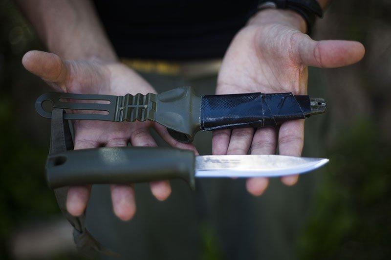 Mon avis sur le couteau bushcraft Mora 740 MG.