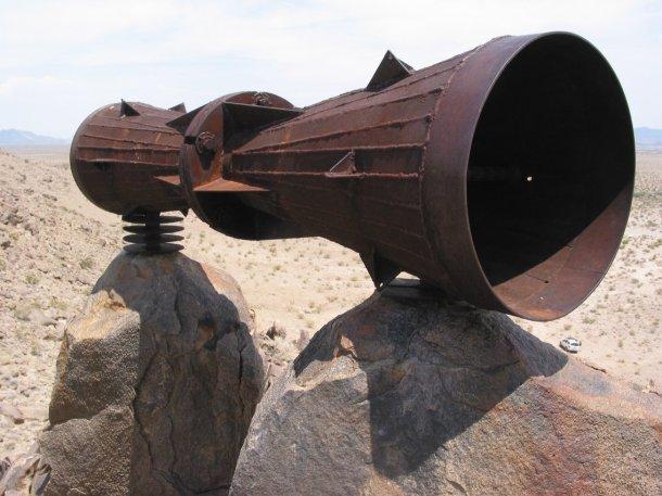 Desert megaphone