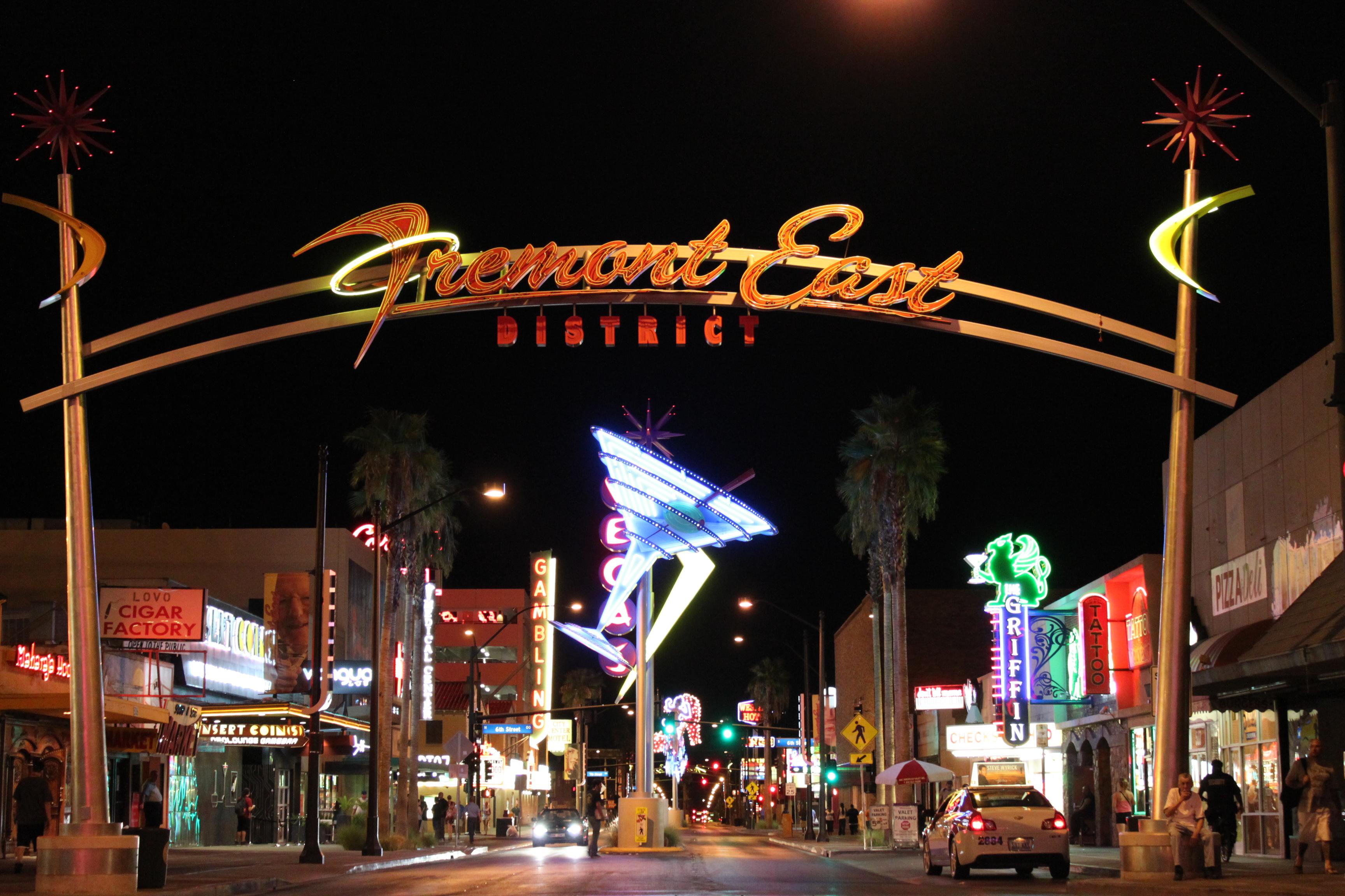 daily neon east fremont in downtown las vegas las vegas 360